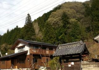 自分の山の木の家_4